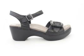 VINTAGE Dansko Sue wedges  Sandals Black Women's Size  38()() - $130.90