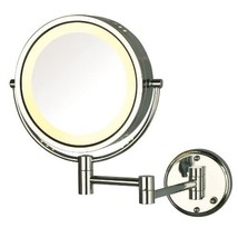 Jerdon HL75CD 8.5-Inch Lighted Direct Wire Wall Mount Makeup Mirror with... - $62.99