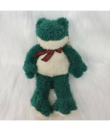 "11"" Russ Berrie Fribbit Frog #1117 Plush Stuffed Green W Original Tag To... - $13.49"