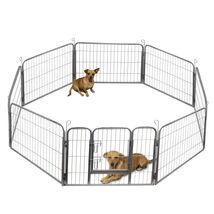 Oxgord Dog Pet Playpen Heavy Duty Metal Exercise Fence Hammigrid 8 Panel... - $119.99