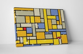 """Colorful Squares II Abstract Art Gallery Wrapped Canvas 20""""x30"""" - $52.42"""