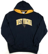West Virginia Mountaineers Hoodie Men's Arch Logo Pullover Hooded Sweatshirt WVU