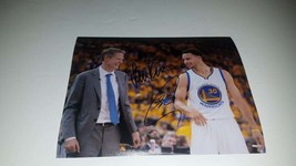 Golden State Warriors Steve Kerr and Steph Curry 8 x 10 photo signed - $249.00