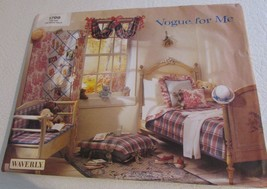 VOGUE For Me 1799 Waverly Children's Room Sewing Pattern - UNCUT - $16.82