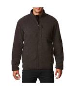 32 Degrees Heat Men's Sherpa Lined Fleece Full Zip Jacket, Charcoal, Lg - $29.69