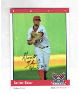 2011 Orem Owlz Team Set Garrett Baker Signed Autographed Card - $9.50