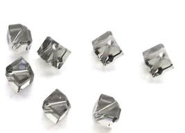 4pcs - 4mm Swarovski Crystal Diagonal Cube Beads #5600 - You Choose The Color image 3