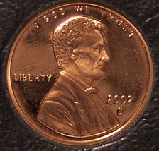 2002-S DCAM Proof Lincoln Memorial Cent #0363 - $4.29
