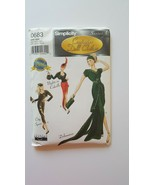 Simplicity 0683 Couturier Doll Clothes Series 1  Sewing Pattern Uncut - $14.84
