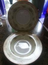 4 Noritake SHERWOOD Rimmed Soup Bowl PLEASE CHECK PHOTOS  - $29.65