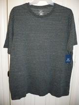 George Men's Textured Crew Tee Shirt X-Large 46-48 Dark Gray Super Soft - £6.79 GBP