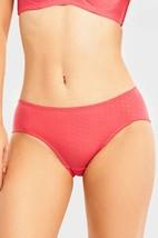 6 PAIRS Mamia Women's Mid Rise Poly Blend Bikini (LP7368PK) - $14.99