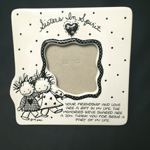 Vintage Enesco Sisters In Spirit Children Of The Inner Light Picture Frame  - $21.78