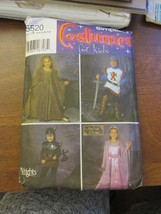 Simplicity 5420 Size A 3,4,5,6,7 8 Costumes For Kids  - $9.99