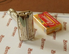 1961 Gillette FatBoy Refurbished Replated Razor G3–12 - $125.00