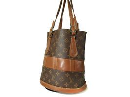 Authentic Louis Vuitton Vintage Bucket Monogram Tote Bag Shoulder Bag LS11068L - $220.00