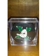 Anaheim Mighty Ducks Official NHL Puck 1993 10 Yr Anniversary - $8.86