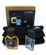 Adidas Moves & Deep Energy Special Gift Set With Adidas Scarf New in pla... - $26.99