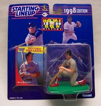 ST. LOUIS CARDINALS MARK MCGWIRE BASEBALL MLB STARTING LINEUP Action Fig... - $16.34