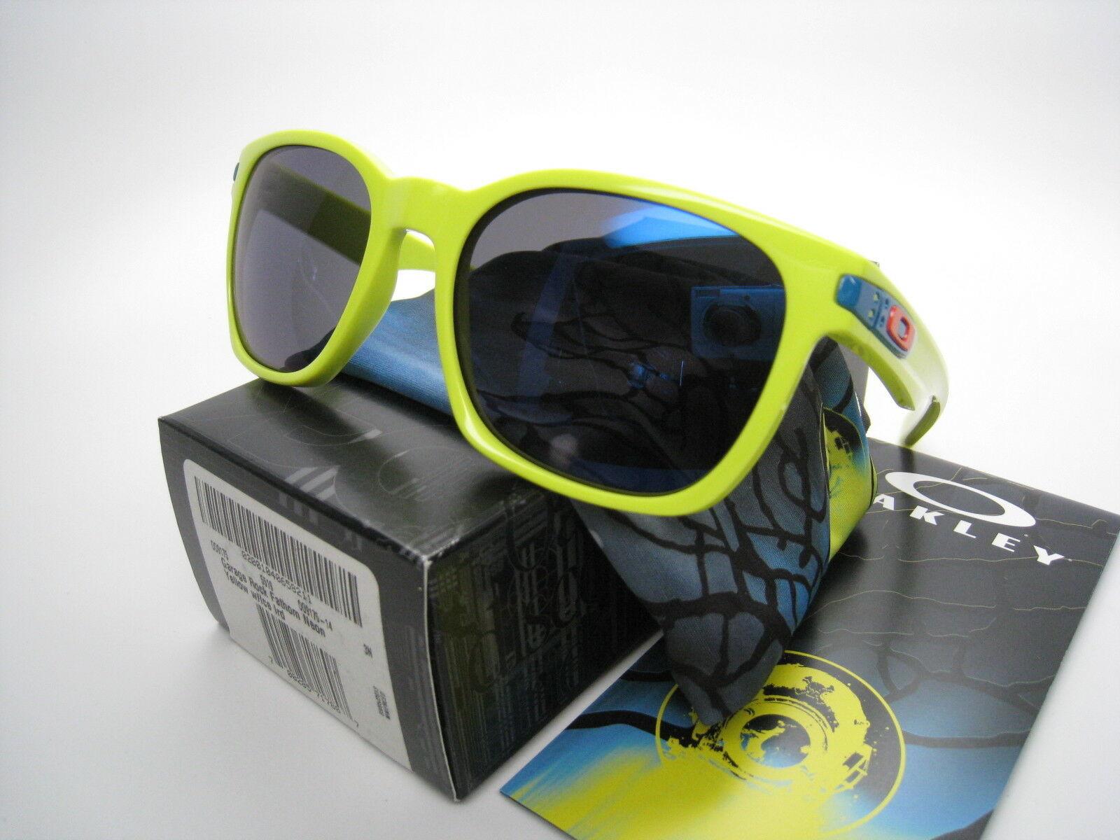 New Oakley Limited Fathom Neon Garage Rock Yellow w/Ice Iridium 9175-14