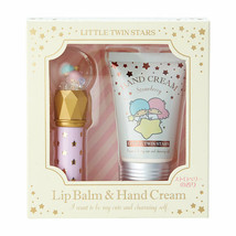 Little Twin Stars Lip Balm & Hand Cream set Strawberr Fragrance SANRIO G... - $39.27