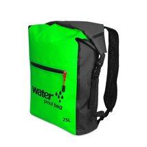 25L Waterproof Backpack, Outdoor Packable Bag / Dry Sack -  GREEN - $26.95