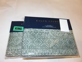 Ralph Lauren Notting Hill Eaton 4P King Sheet set - $218.20