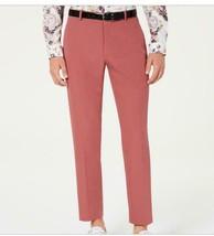 INC International Concepts  Men's Slim-Fit Dusty Red Pants Size 36W 30L - $21.78