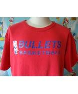 Vintage 90's Washington Bullets NBA Champion Practice T Shirt XL  - $49.49