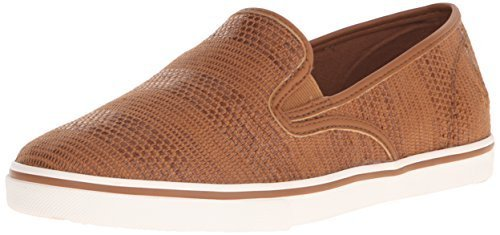 Lauren Ralph Lauren Women's Janis-Sk-v Fashion Sneaker, Tan, 8.5 B US