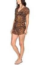 NWT RALPH LAUREN Womens' Large Brown Leopard Print Swim Coverup Tunic - $39.55