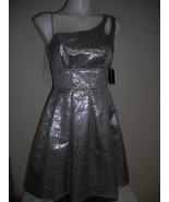 TEEZ ME junior silver / bronze dress Size: 1, 3, 5, 7, 9 - $7.99