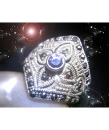 HAUNTED RING QUEEN WITCHS APPRECIATE CARE FOR & PAMPER ME OOAK MAGICK MA... - $5,477.77