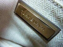 NWT Tory Burch Classic Taupe Kira Chevron Small Camera Bag $358 image 9