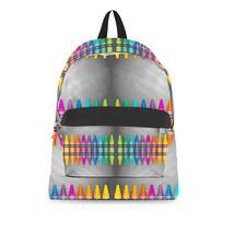 Rainbow Crayons Backpack - $69.23 CAD