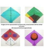 Indian Kite Patang Set of 20 Assorted Paper Kites Colorful Kites - $28.30