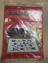 Kugel Vogart - Crewel Tulips - 1400C Needlepoint Rug Canvas Wall Hanging  - $24.75