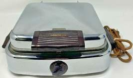 Vintage Dominion Table Cooker With Reverso Grids Waffle Iron Model 1311-D - $50.30