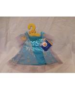 Build a Bear Workshop Disney Frozen Elsa Costume Dress Gown Exclusive NEW - $28.73