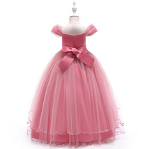 Sexy A Line Embroidery Wedding Flower Girl Dress 2019 A Line Children Go... - $24.33