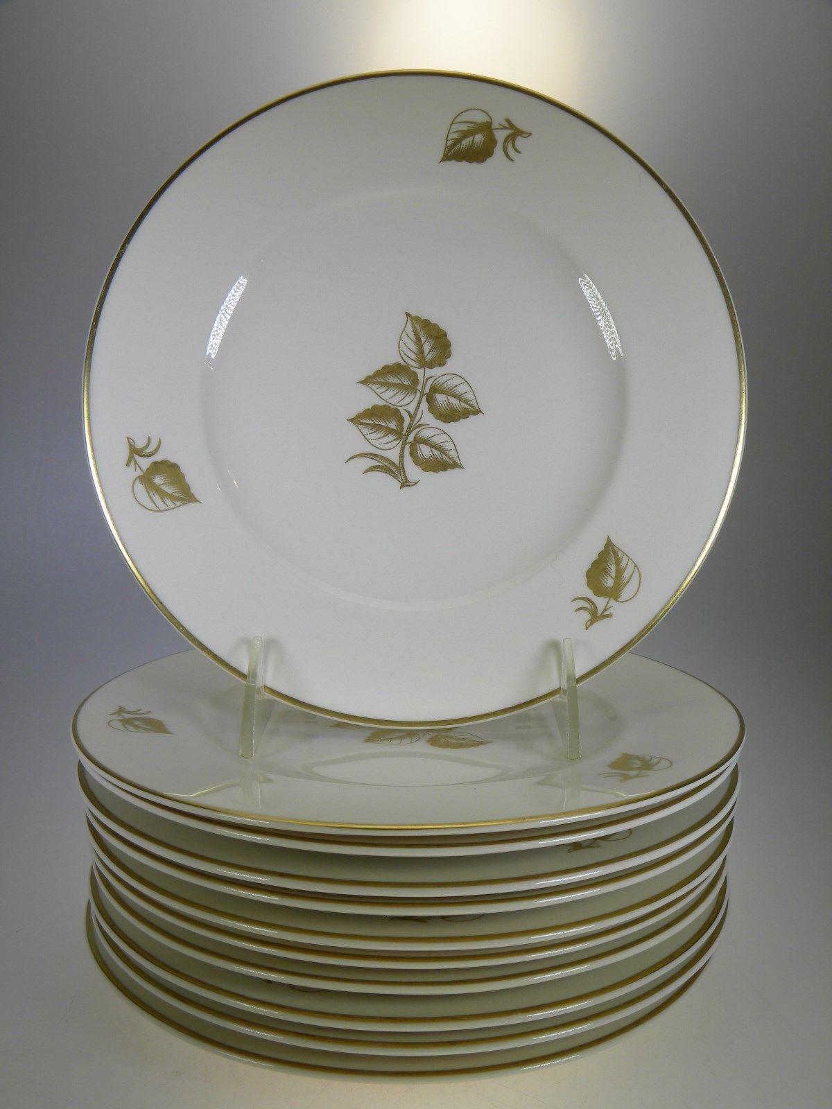 Syracuse China Roseleaf Salad Plates Set of 11 - $68.21 & Syracuse China Plates: 62 listings