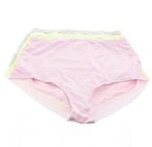 Rhonda Shear 3Pc Smooth Pinup Brief Lace Trim Colors Lights 3X NEW 650-181 - $33.64