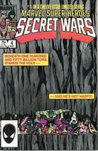 Marvel Super-Heroes Secret Wars Comic Book #4 Marvel 1984 Near Mint New Unread - £7.83 GBP