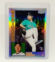 MLB YUSEI KIKUCHI SEATTLE MARINERS 2019 TOPPS CHROME ROOKIE REFRACTOR #8... - $2.06