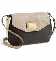 Marc Jacobs Color Block Leather Messenger Crossbody ~Nwt~ Black - $193.05