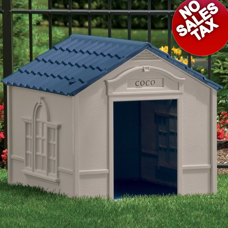 XL Dog House Extra Large Dog Houses for Large Dogs Weather Resistant Pet Shelter, used for sale  USA