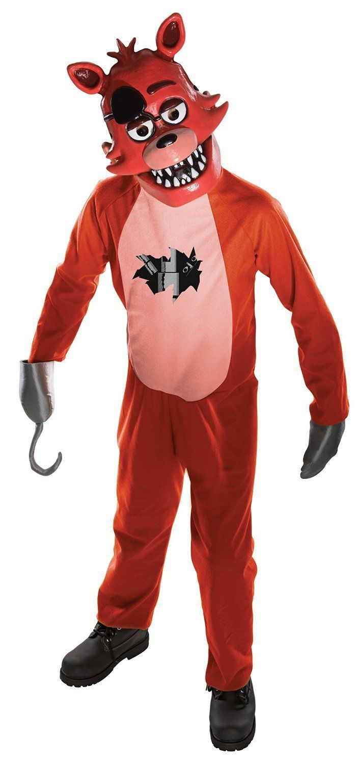 Rubies Five Nights At Freddy's Foxy Game Child Boys Halloween Costume 630099