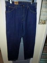 Dickies Blue Jeans Regular Fit  5-Pocket Denim Straight Leg Size 34X32 Men's NEW - $48.40