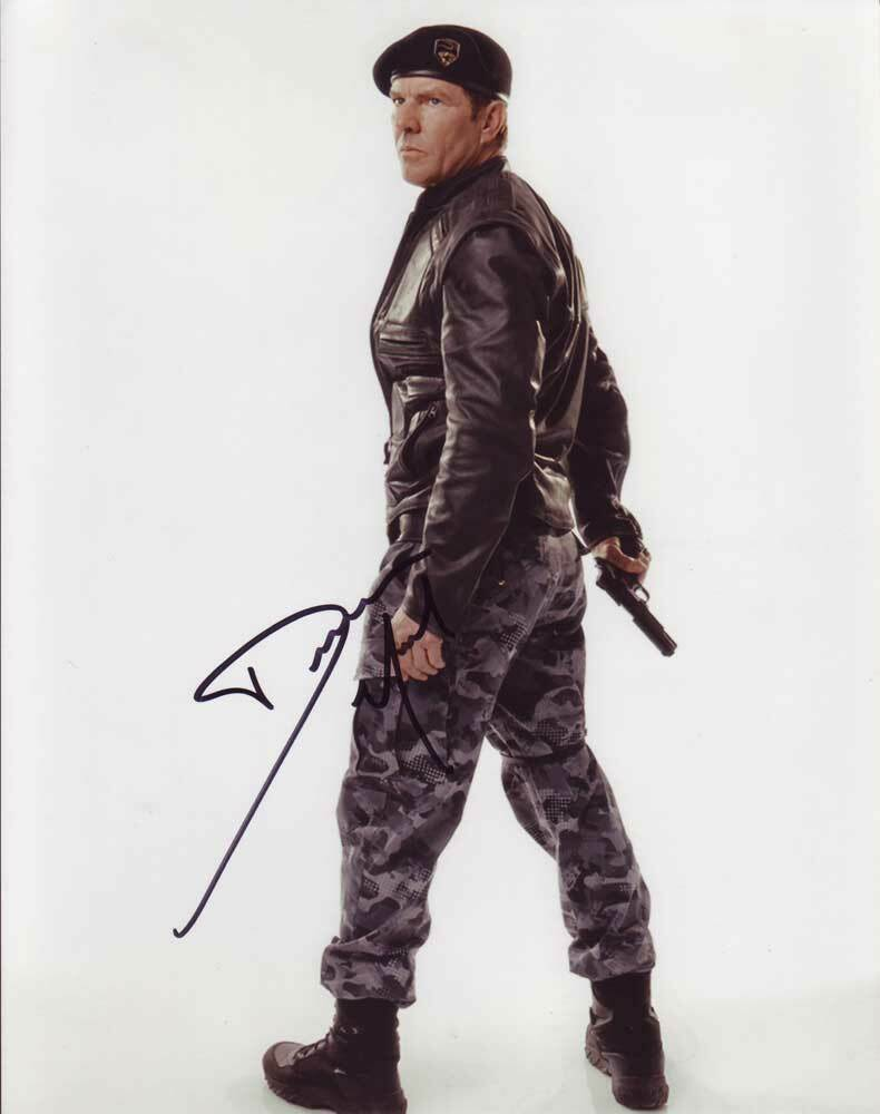 Primary image for Dennis Quaid In-person AUTHENTIC Autographed Photo COA SHA #30336