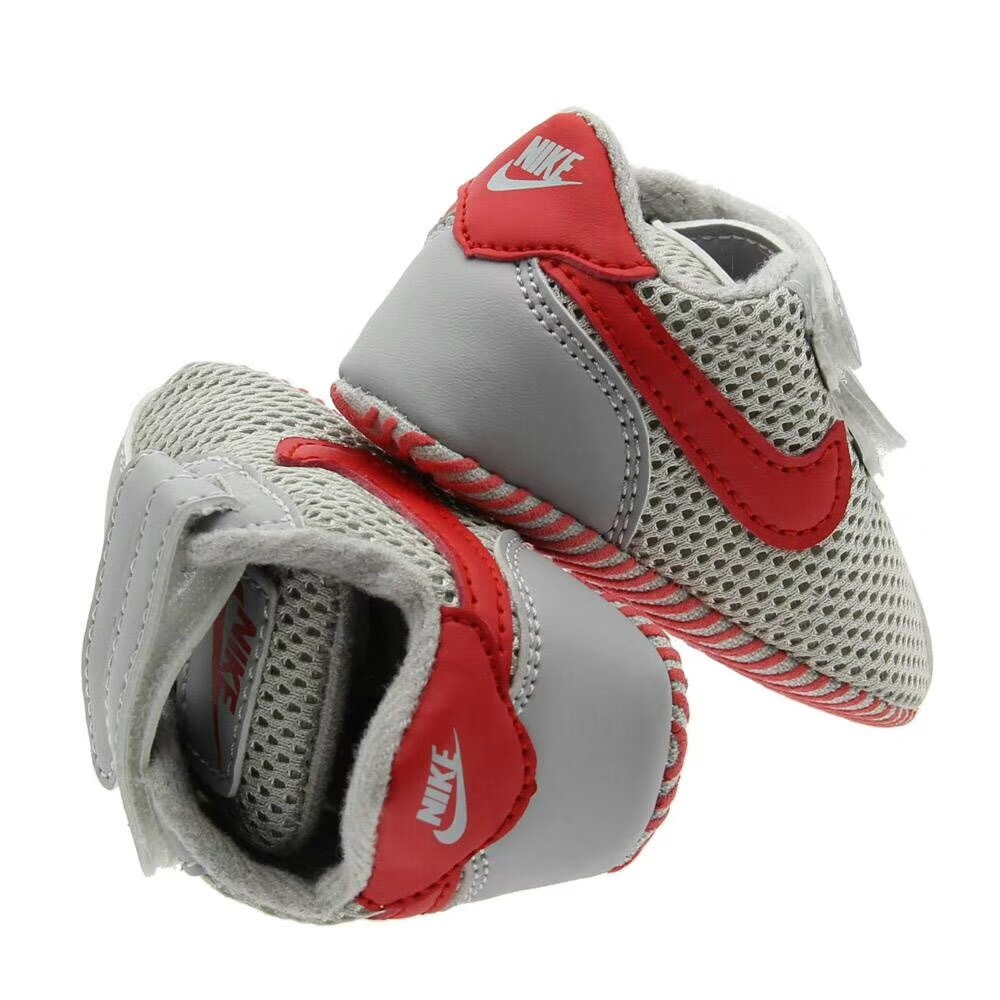 Newborn Gray Sports Walking Shoes Leather Baby Boys Toddler Shoes  N155